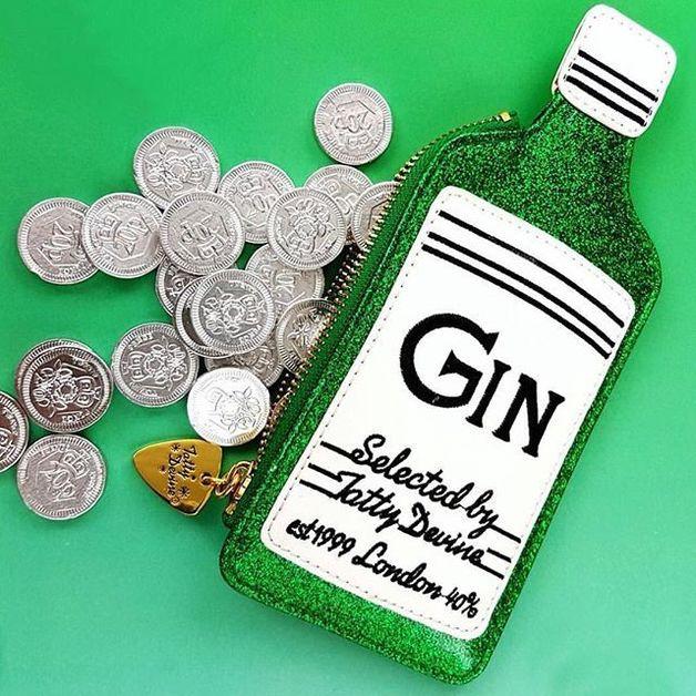 Tatty Devine Coin Purse Gin