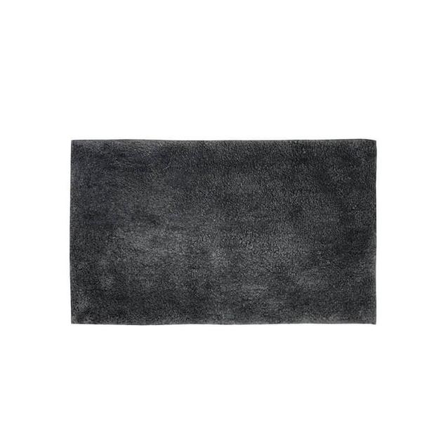 Bambury Pewter Microplush Bath Mat