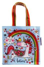 Rachel Ellen: Believe Unicorn - Mini Tote Bag