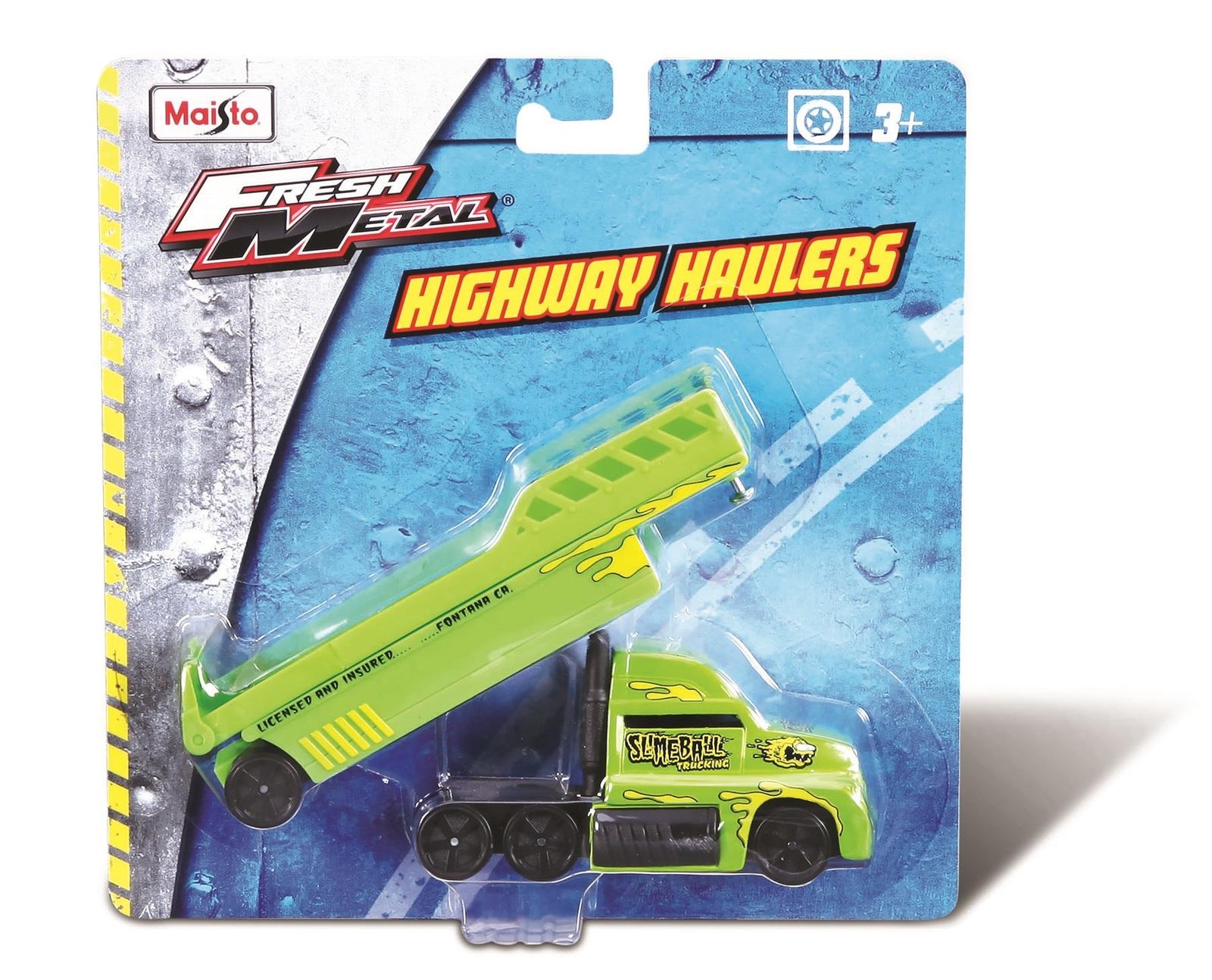 Maisto: Fresh Metal - Highway Haulers (Assorted Designs) image