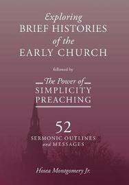 The Power of Simplicity Preaching by Jr Hosea Montgomery