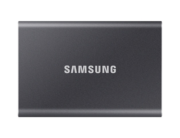 500GB Samsung Portable SSD T7 Grey
