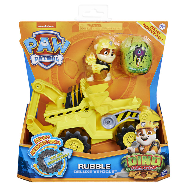 Paw Patrol: Dino Rescue Vehicle - Rubble