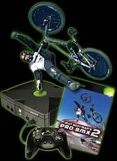 Xbox Console + Mat Hoffman BMX 2 for Xbox