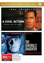 Civil Action, A / The General's Daughter (2 Disc Set)  on DVD