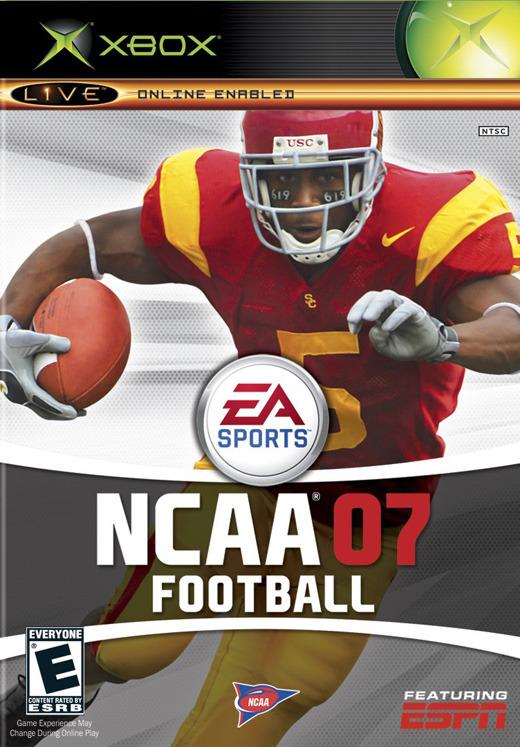 NCAA Football 07 for Xbox