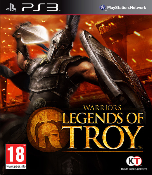 Warriors: Legends of Troy for PS3