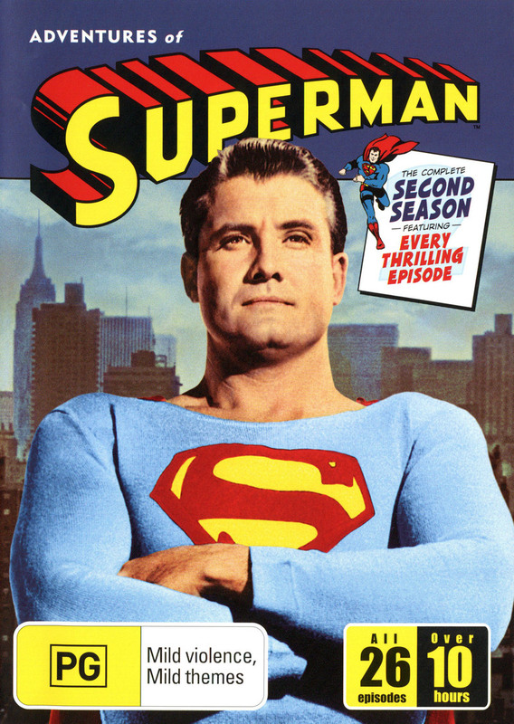 Adventures Of Superman - Season 2 on DVD