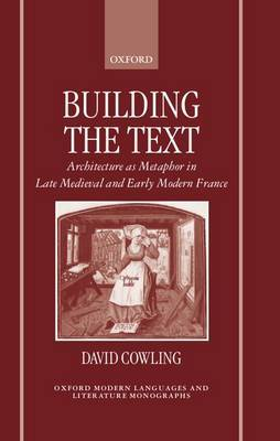 Building the Text by David Cowling