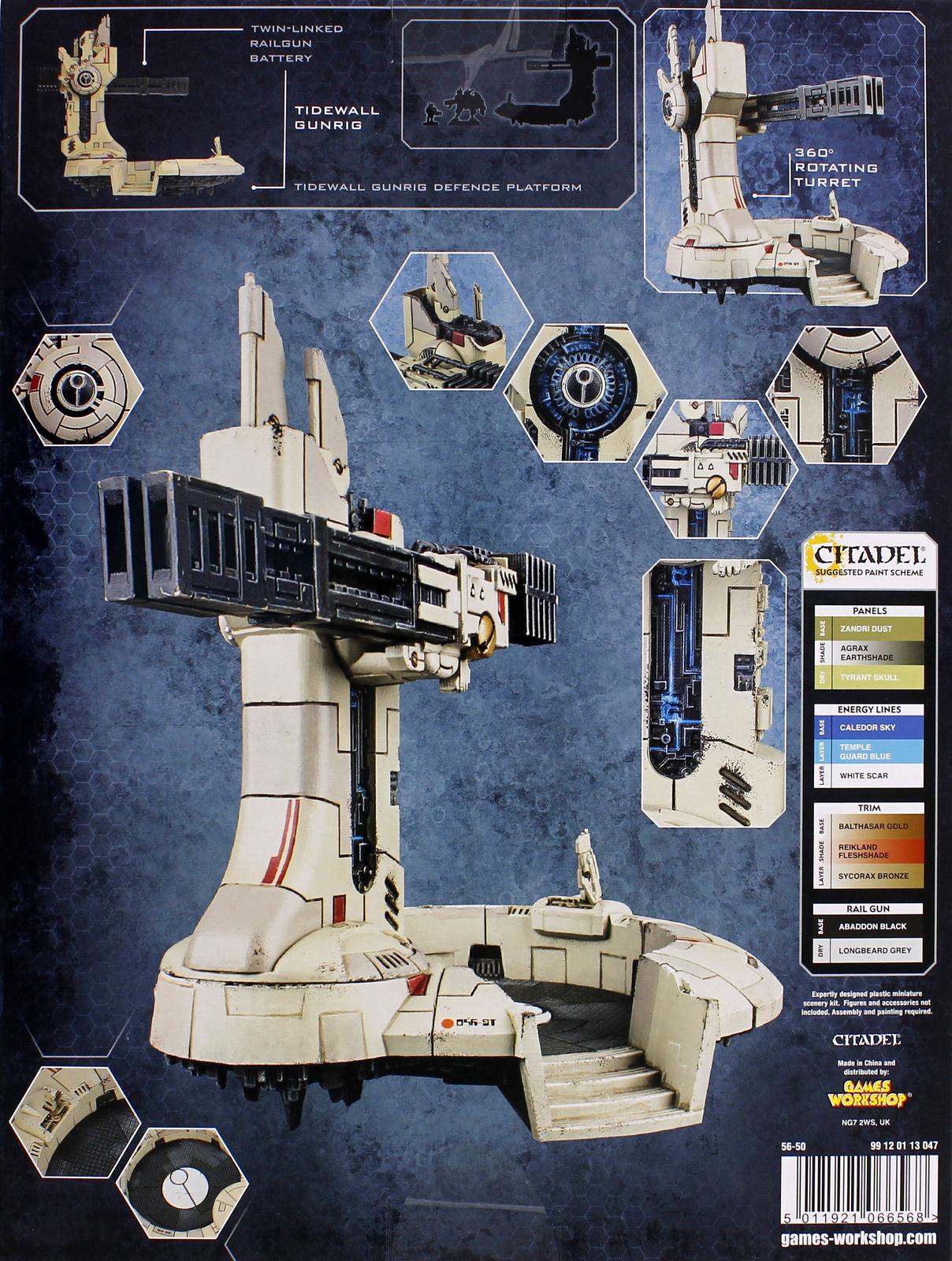 Warhammer 40,000 Tau Empire Tidewall Gunrig image
