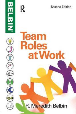 Team Roles at Work by R.Meredith Belbin image