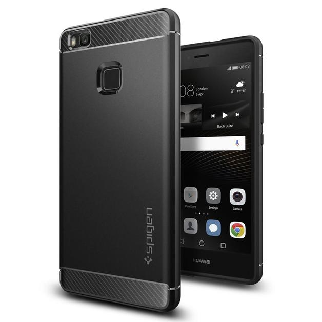 Spigen: Huawei P9 Lite Rugged Armour Case - (Black)