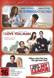 No Strings Attached / I Love You Man / She's Out Of My League on DVD