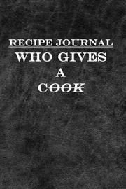 Recipe Journal by George Allen