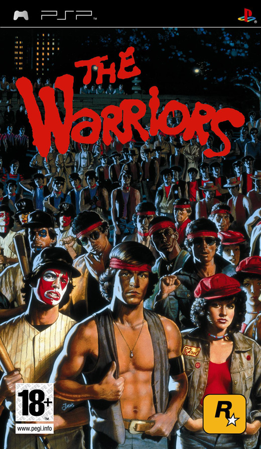 The Warriors for PSP image
