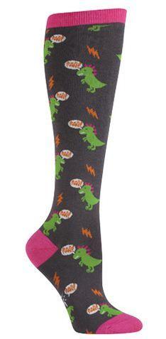 Women's Dinomite Knee High Sock image