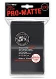 Ultra Pro: Pro-Matte Deck Protectors - Standard Black (100ct)