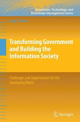 Transforming Government and Building the Information Society by Nagy K Hanna image