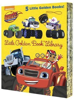 Blaze and the Monster Machines Little Golden Book Library by Various ~ image