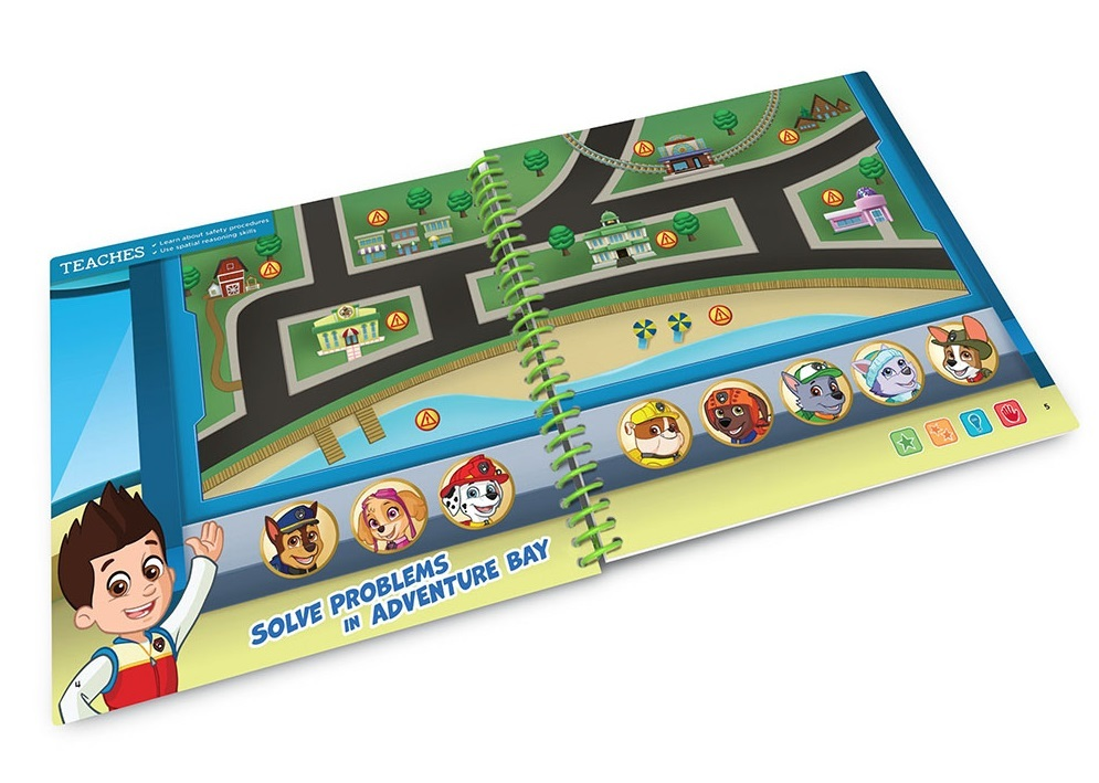 Leapstart - PAW Patrol Around Town - Activity Book (Level 2) image