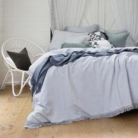 Bambury King Textured Quilt Cover Set (Bonita)