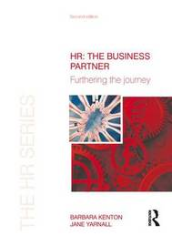 HR: The Business Partner by Barbara Kenton image
