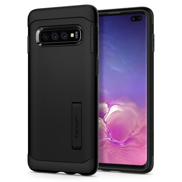 Spigen Galaxy S10+ Slim Armor Case - Black