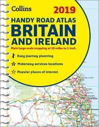 2019 Collins Handy Road Atlas Britain by Collins Maps