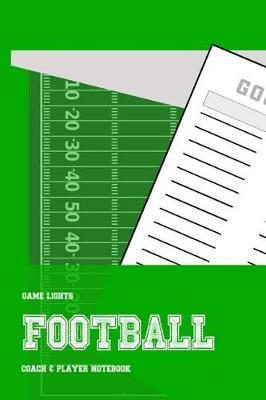 Game Lights Football by A Rainey