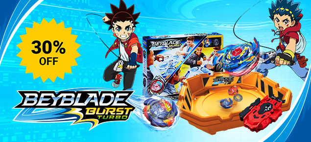30% off Beyblade!