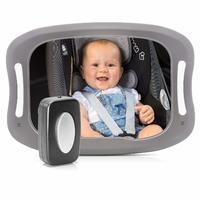 Reer: BabyView LED car safety mirror