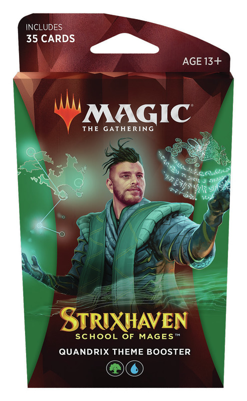Magic the Gathering: School of Mages Theme Booster- Quandrix
