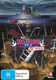 Bleach the Movie 3 - Fade to Black on DVD