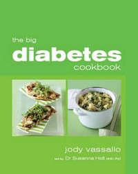 The Big Diabetes Cookbook by Jody Vassallo image