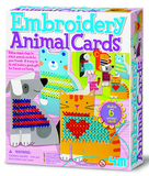 4M Craft - Embroidery Animal Cards