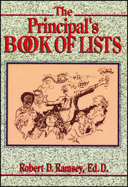 The Principal's Book of Lists by Robert D. Ramsey image
