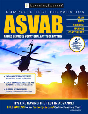 ASVAB | Learning Express Book | In-Stock - Buy Now | at