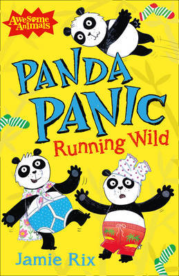 Panda Panic - Running Wild by Jamie Rix image