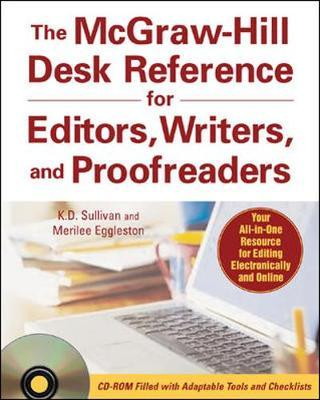 McGraw-Hill Desk Reference for Editors, Writers, and Proofreaders by Merilee Eggleston