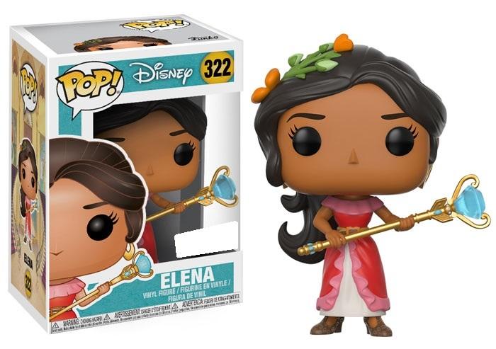 Elena of Avalor - Elena (with Staff) Pop! Vinyl Figure image