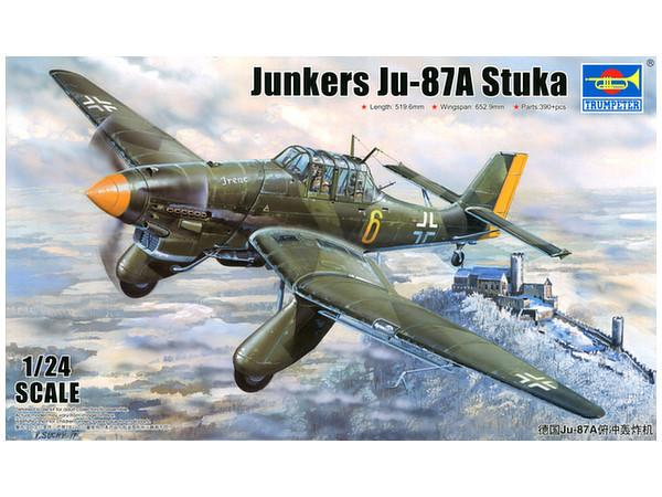 Trumpeter - 1/24 Junkers Ju-87A Stuka - Model Kit