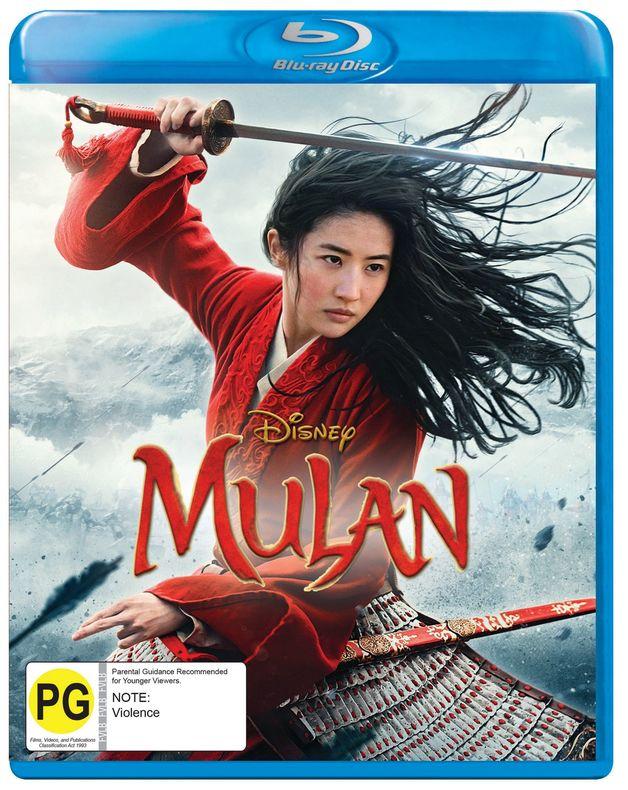 Mulan (2020) on Blu-ray