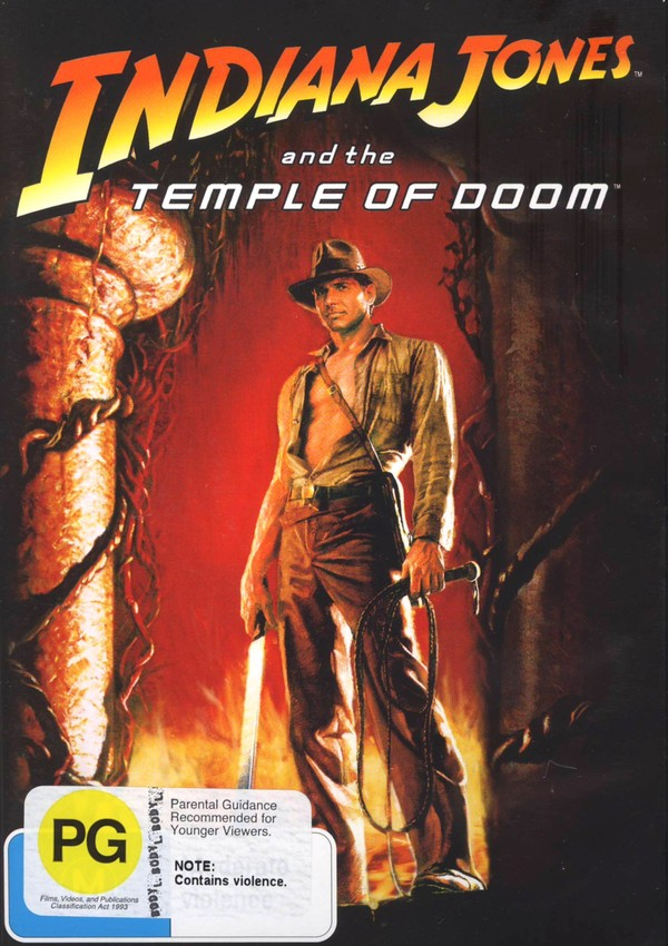 Indiana Jones And The Temple Of Doom - Special Edition on DVD image
