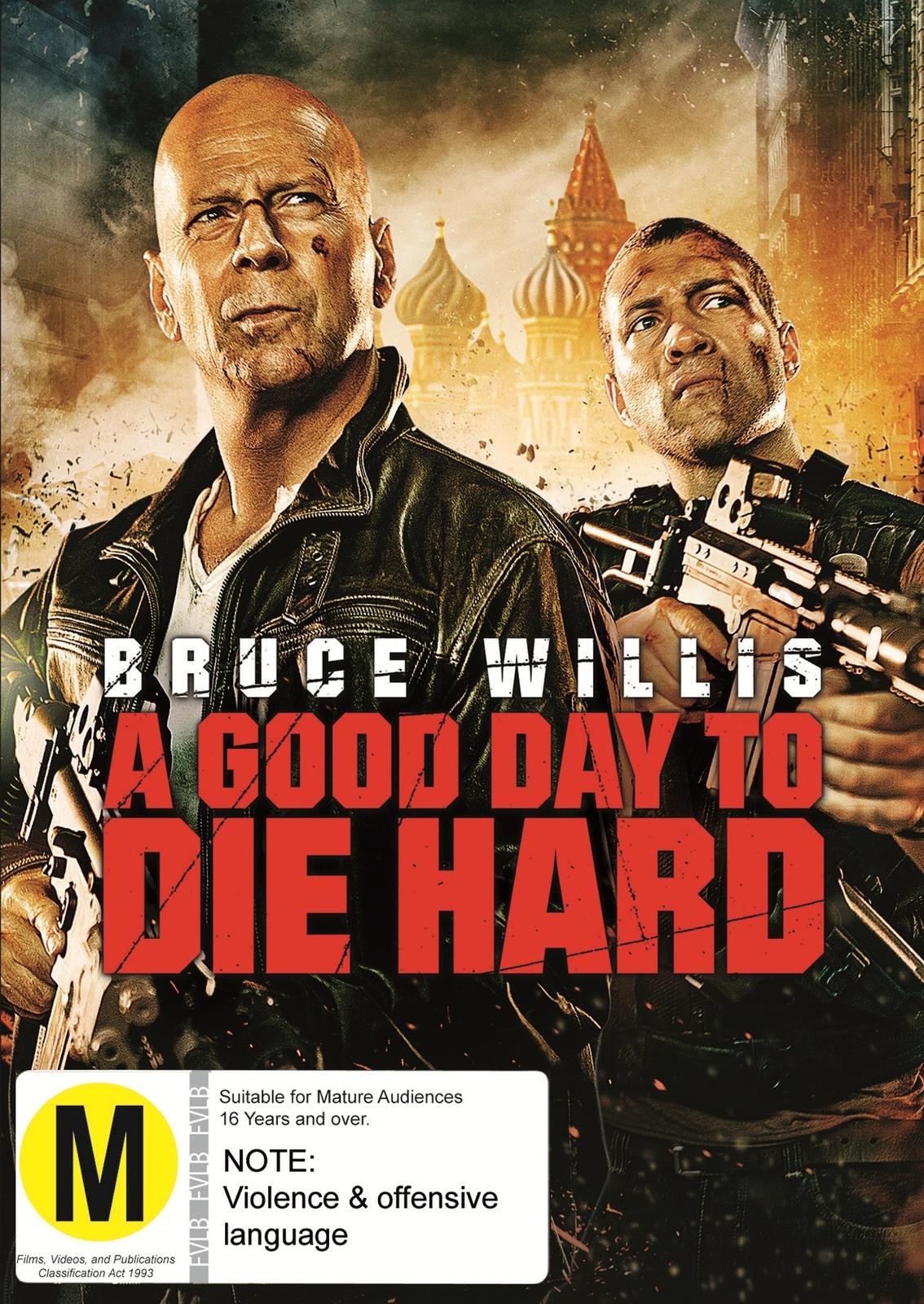 Die Hard 5: A Good Day to Die Hard on DVD image