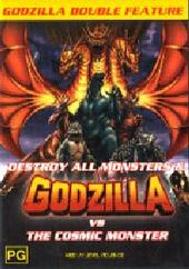 Godzilla Double # 3 - Destroy All Monsters, Godzilla vs The Cosmic Monster on DVD