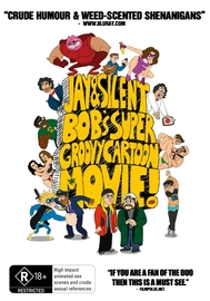 Jay and Silent Bob's Super Groovy Cartoon Movie on DVD