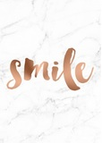 Rayell A4 Poster - Smile (Copper)