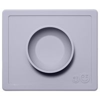 EZPZ Happy Bowl - Light Grey