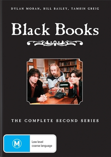 Black Books - Series 2 (Repackaged) on DVD