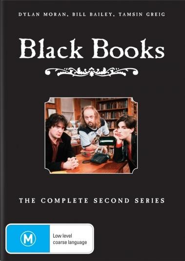 Black Books - Series 2 (Repackaged) on DVD